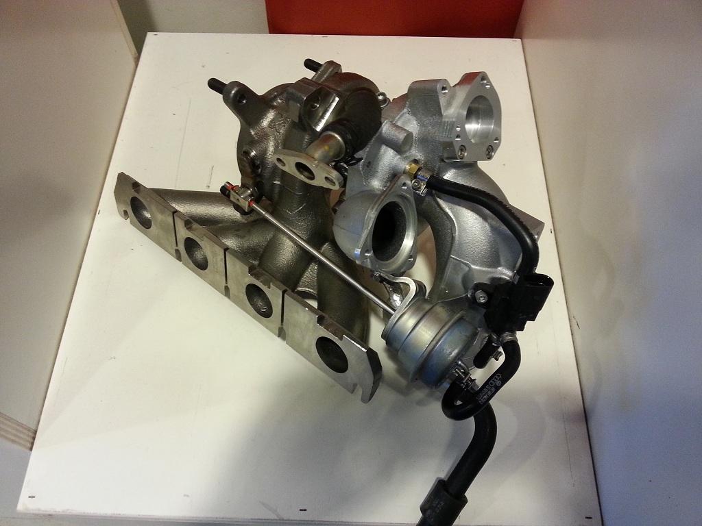 Hybrid TSI turbo