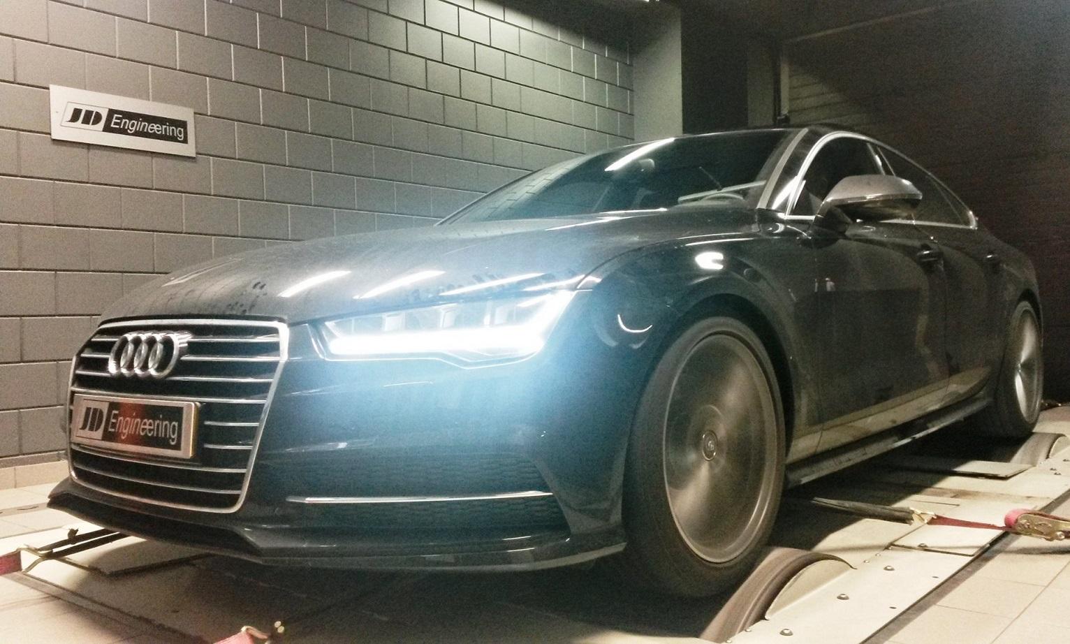 Audi 3.0 tdi 218pk   JD stage 1