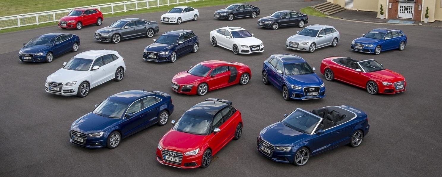 Audi Modellen
