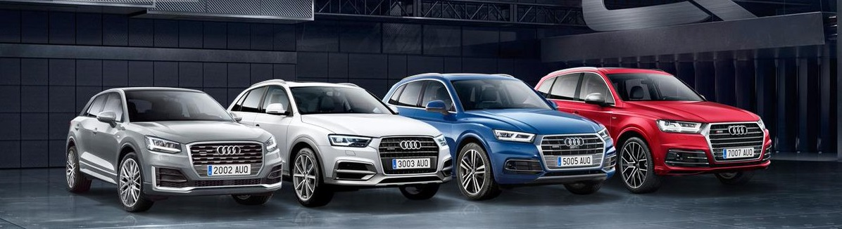 Audi Q Modellen